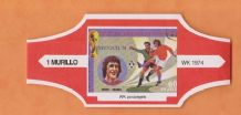 1974 World Cup Cigar Band Holland Johan Cruyff (Red)